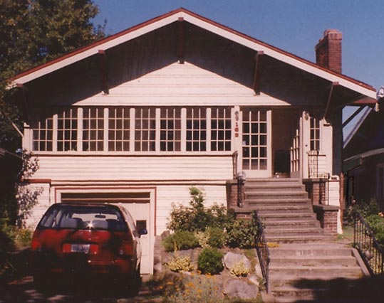 Mucci Truckess Architecture: Hilltop Craftsman - Before, Single Story Bungalow